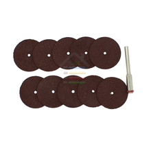 100PC 22mm Flat Resin Cutting Discs Grinding Wheel Disc Cut Off Set For Abrasive Dremel Rotary Tools Ferrous Non-Ferrous Metals