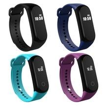 Смарт-браслеты Водонепроницаемый Bluetooth вызова/SMS напоминание часы Фитнес сна трекер сердечного ритма Мониторы Смарт Браслет