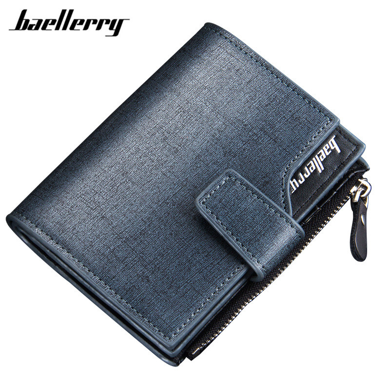 Wallet Man Leather Credit Card Holder Coin Pocket Brand Design Male Money Billfold Maschio Portafoglio Purse Clutch Baellerry шины continental contiecocontact 5 185 55 r15 82h