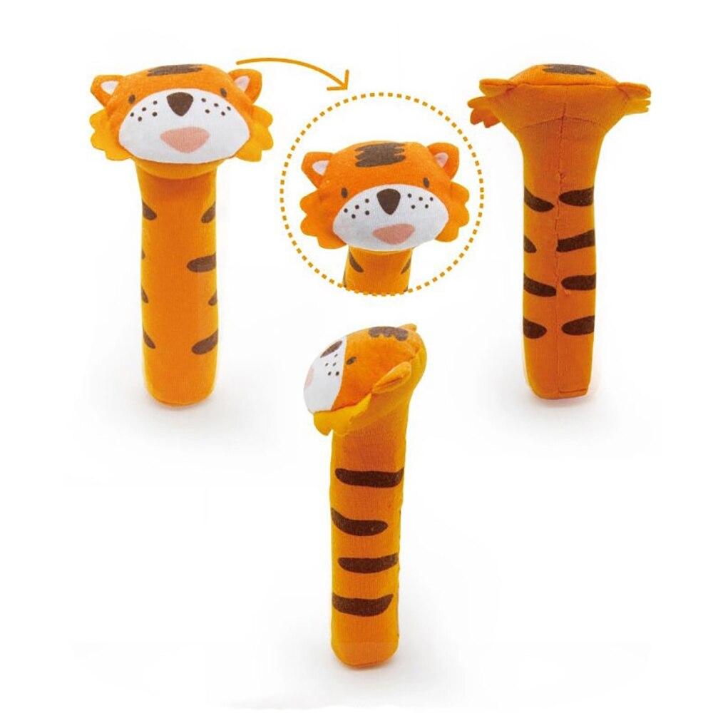 Cute Plush Stuffed Animal Baby Cottaky Sticks Toys Lovely Hand Bell - Խաղալիքներ նորածինների համար - Լուսանկար 3