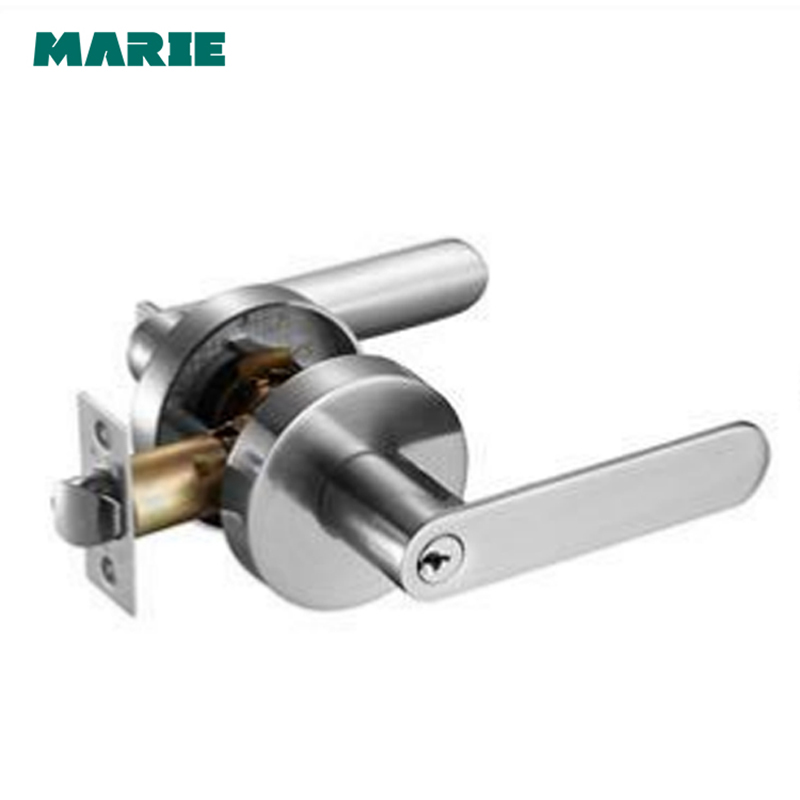 LH3007 Stainless Steel Privacy/Passage Interior Door Lock Set Brushed Nickel Bathroom Do ...
