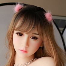 Oral Sex Head Doll for 140cm to 176cm Full Size with M16 Screw Thread