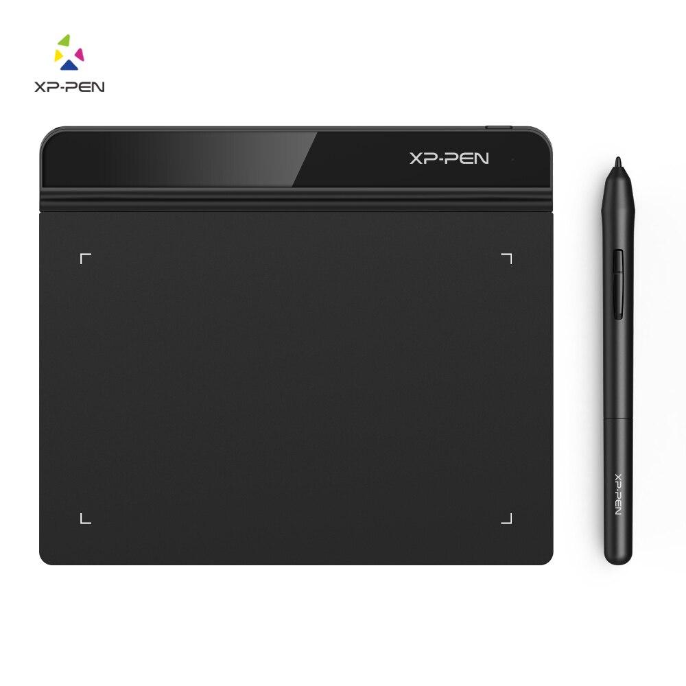 XP-ручка g640 6x4 дюйма графический Рисунок Планшеты больше тоньше, чем G540 для игры для раскрашивания 8192 уровни sensivitity