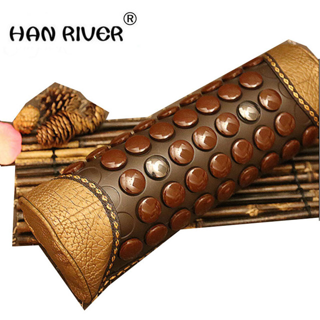 Candy type magnet small neck pillow Cervical spine magnetic therapy health care pillow Jade pillow pillow cervical old man