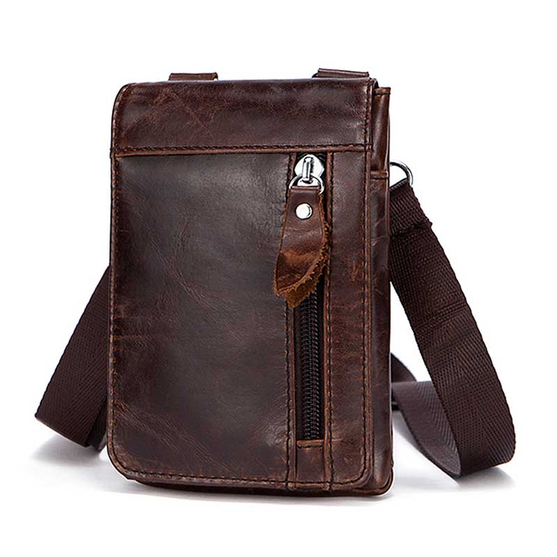 Genuine Leather shoulder bag men bags Casual Travel bag high quality Messenger bag Natural cowhide Cell Phone Pocket handbags high quality casual men bag