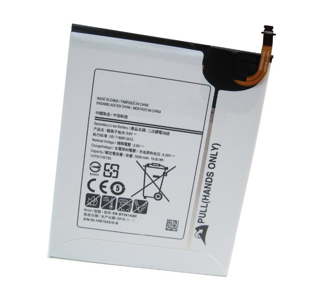 Battery EB-BT561ABE(3.8V 19.00WH 5000MAH)For Samsung Galaxy Tab E 9.6 SM-T561 SM-T560 SM-567V