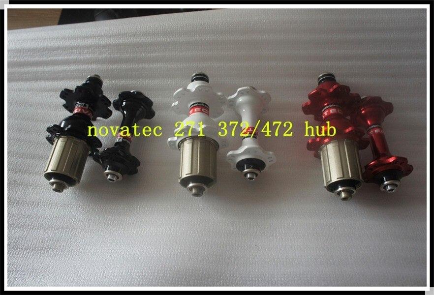 Moyeux Novatec ultralégers A271SB-F472SB 20-24 trous poids 374g une paire campagnoloo 8/9/10/11 couleur noir rouge blanc couleur disponible