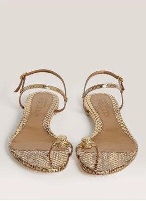 designer flip flops qbc5  2017 Fashion Designer Flip Flops Women Skull Flat Sandals Serpentine  Leather Women Sandal Beach Summer Shoes