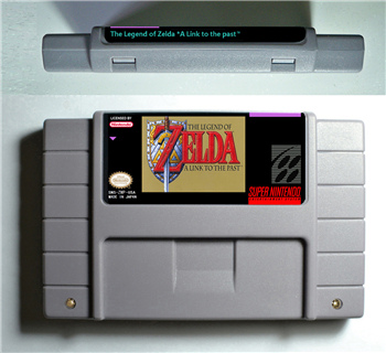 The legend of Zeldaed Series Games A Link to the past or Parallel Worlds Goddess of Wisdomed BS REMIX - Battery Save US Version