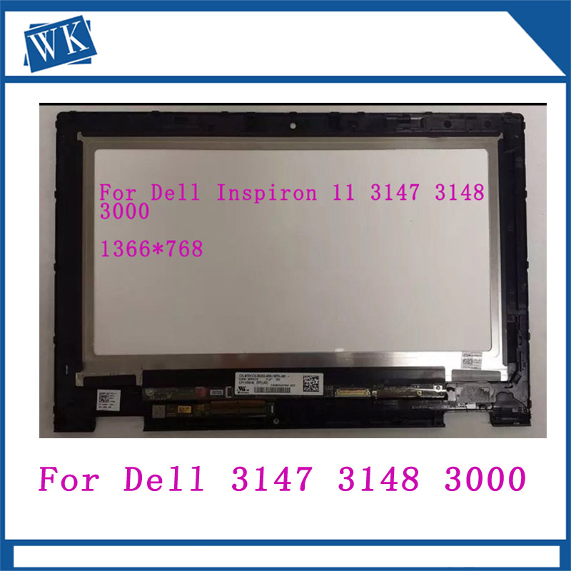 "11.6/"" LCD Touch Screen Assembly Display For Dell Inspiron 11 3000 3147 P20T-001"