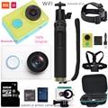 Original xiaomi yi action camera 1080P 60fps 16MP wifi Bluetooth 4.0 Smart Sport travel Waterproof Camera optional accessory mi