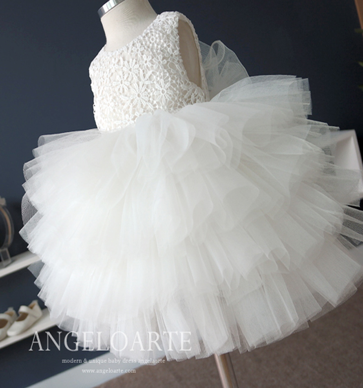 Newest Infant Baby Girl Birthday Party Dresses Baptism Christening Easter Gown Toddler Princess Lace Flower Dress for 0-2 Years 2017 kids clothes flower girl party dress baby birthday baptism lace tutu dresses for girls infant christening gown vestido 2 9y