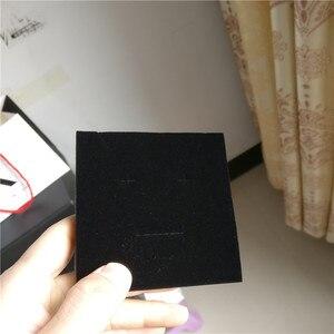 Image 5 - 100 יח\חבילה תכשיטי קופסות מתנה לבן מותאם אישית אריזת קופסא עם לוגו טבעת שרשרת צמידי עגיל מתנת אריזה תיבה