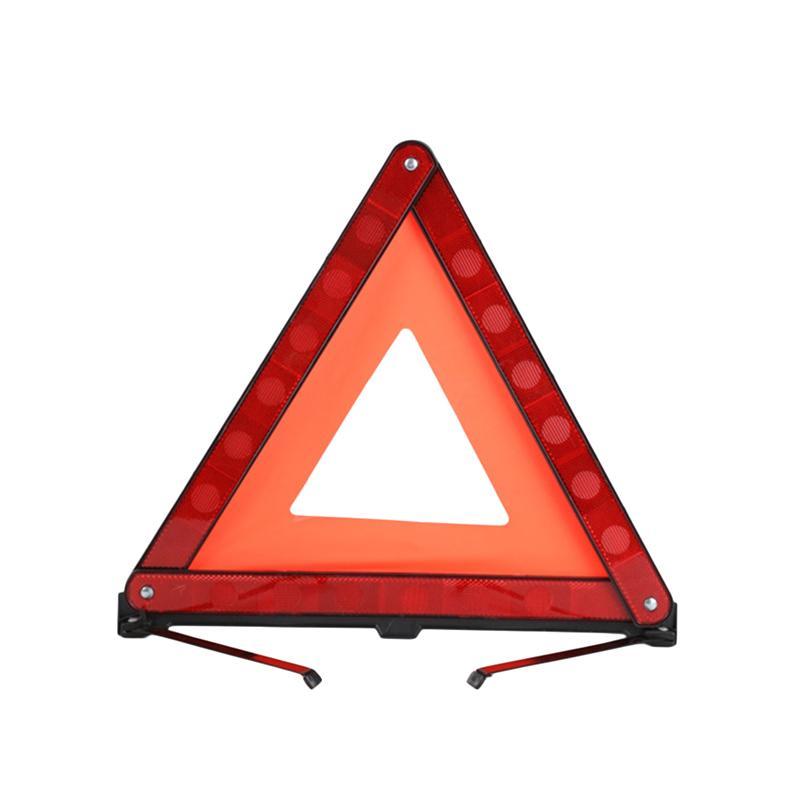 Vorcool 3 Pcs Road Safety Warning Sign Roadside Hazard Triangle
