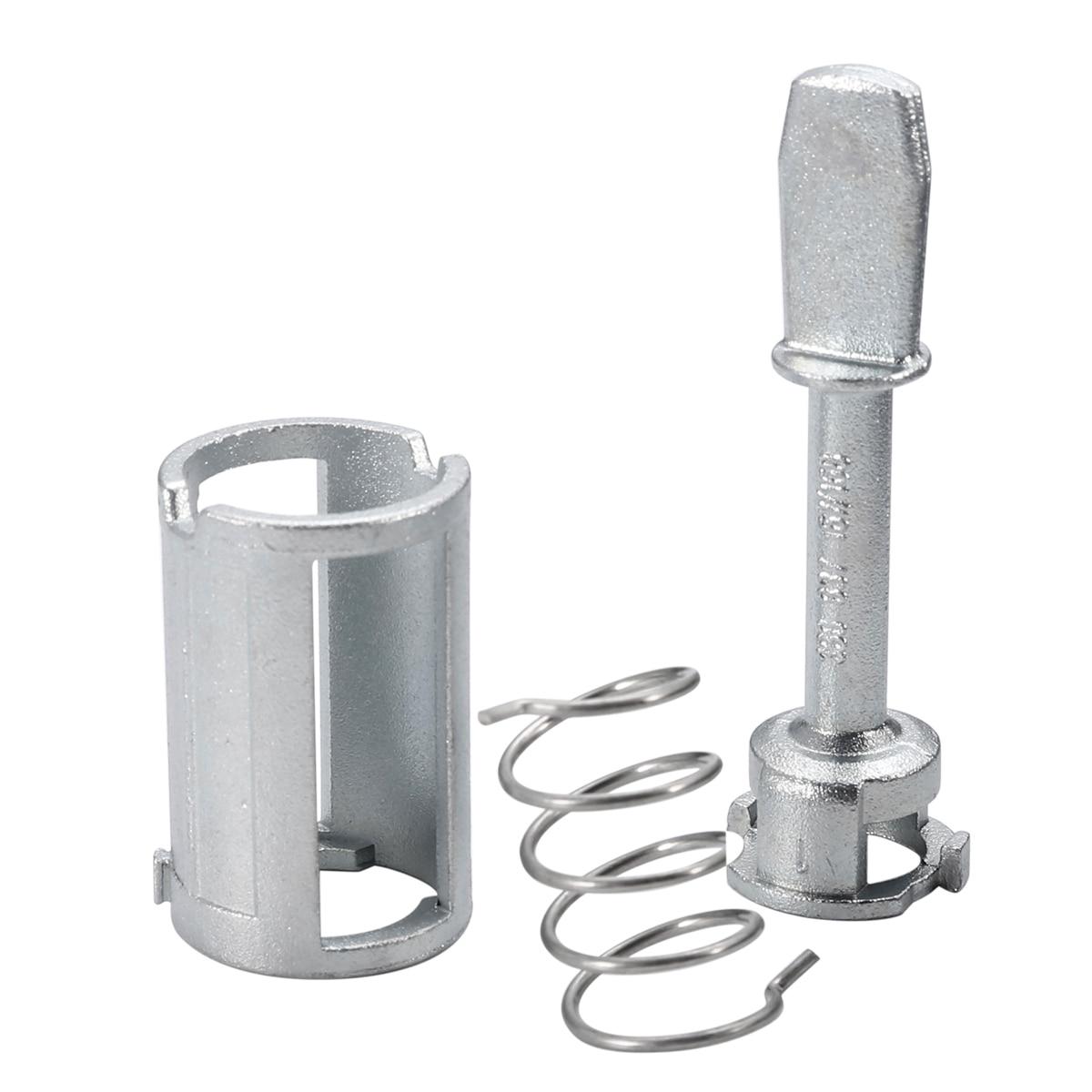 7pcs/Set Front Door Lock Cylinder Barrel Repair Kit For VW Mk4 Golf 4 Bora Locks & Hardware Door Lock Cylinder Repair Kit free shipping car lock cylinder repair kit for bw e46