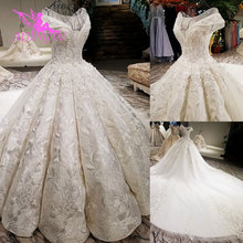 AIJINGYU Wedding Dress With Corset Amazing Bridal Gowns Womens Greece Cord Lace Gown Arab Emirates Imported Wedding Dresses