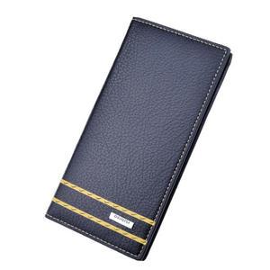 c2928cdbbd5 Wonworld zipper long wallets for men s Leather Male Purse