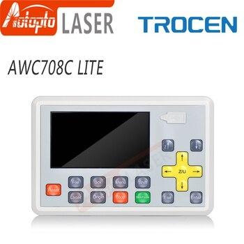 Trocen AWC708C LITE Co2 Laser Controller System For Laser Cutting Machine Engraving Machine Replace AWC708S Ruida leetro ruida rd rdlc320 a co2 laser dsp controllerr rd320a co2 laser controller use for laser engraving and cutting machine