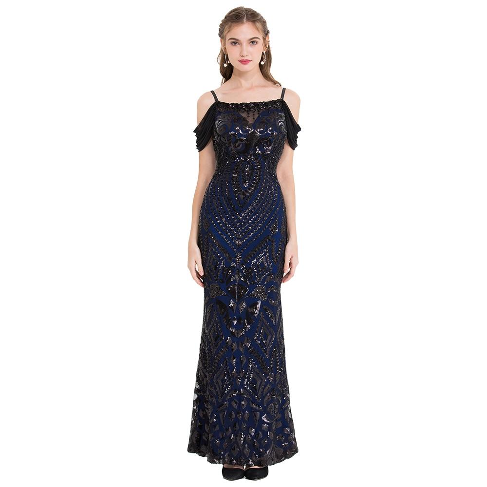 Angel-fashions Womens Vintage Evening Dresses Art Deco Gatsby