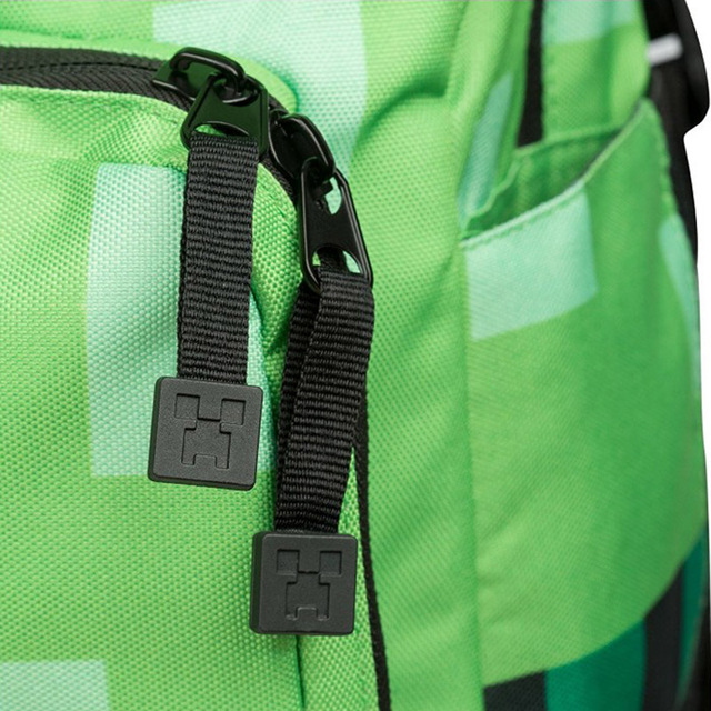 Batoh do školy štýl MINECRAFT 2farby School Backpack