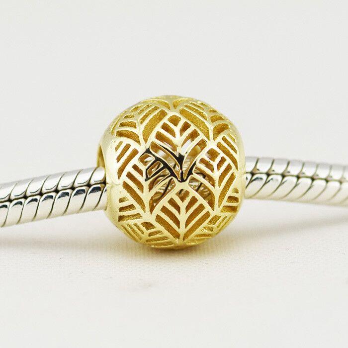 Convient pour Pandora bracelets à breloques authentique 925 bijoux en argent Sterling perles abstraites livraison gratuite