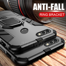 For Huawei Honor View 20 Case Finger Ring Magnetic Holder Soft Silicone Shockproof Back Cover