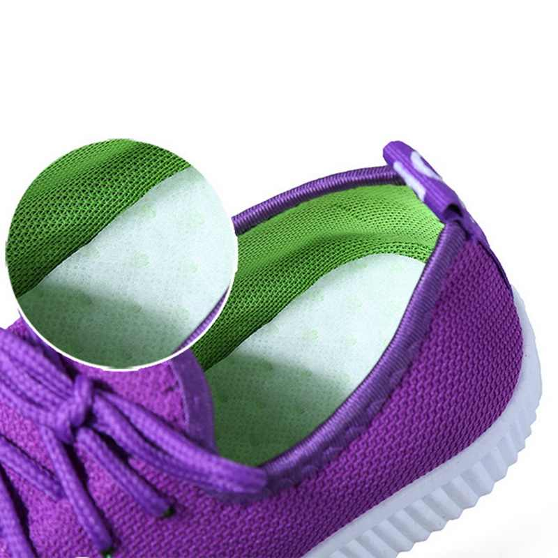MoneRffi ผู้หญิงฤดูร้อน Breathable รองเท้าผ้าใบรองเท้าวิ่งกลางแจ้งรองเท้าตาข่ายผ้าใบรองเท้าด้านล่างสุภาพสตรีรองเท้าสบายๆ 2019