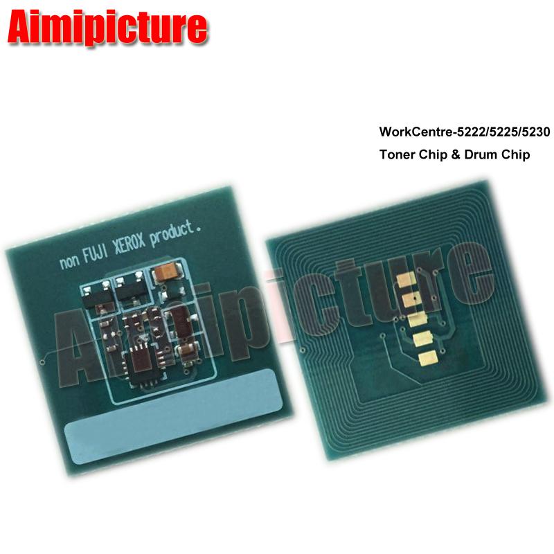 xerox 5222 toner cartridge chip