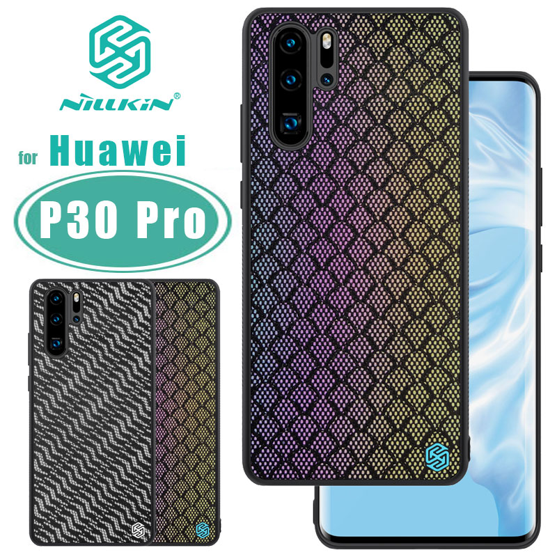 Para Huawei P30 Pro caso NILLKIN do Caso Brilho para Huawei Nilkin P30 Pro tampa Traseira capas coque Reflexivo Brilho PC caso difícil