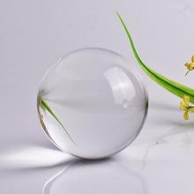 80MM Photography Crystal Ball Ornament FengShui Quartz Magic Glass Ball Home Decor Sphere Bola De Cristal Decoracion Hogar