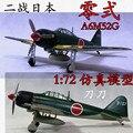 1: 72 Segunda Guerra Mundial Japonês Zero lutador aeronaves modelo Trompetista A6M52G terminou modelo 36353 brinquedo