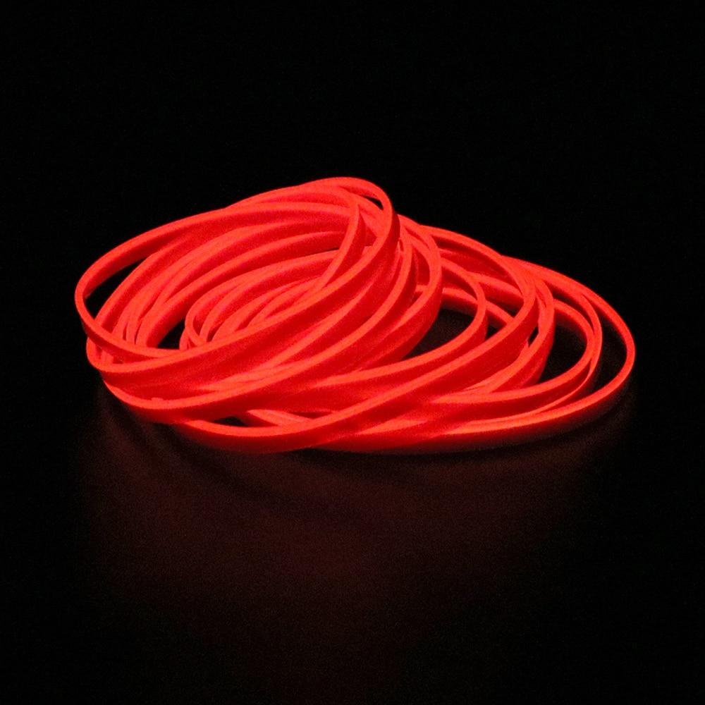 FORAUTO 5 метров автомобильное Внутреннее освещение авто светодиодная лента EL Wire Rope Авто атмосферная декоративная лампа гибкий неоновый свет DIY
