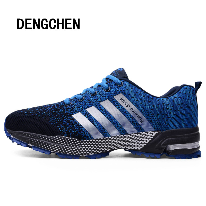 Outdoor Sports Shoes Hot Sale Breathable Male Light Weight Shoes Sneakers for Man Adult Athletic Trainer Running Shoes for Men