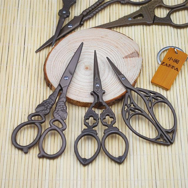 Antique Craft Scissors Vintage Mini Handcraft Diy Tools Handmade Creative