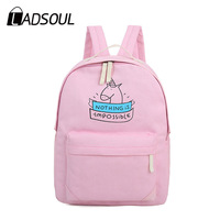 2017 Preppy Style Women Backpacks 2pcs Set Canvas Candy Color College Student School Backpack Good Quality