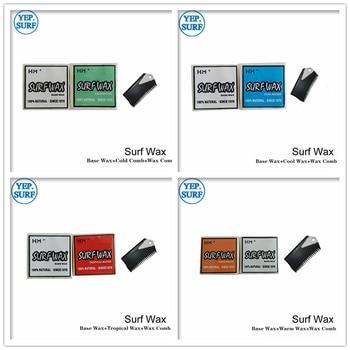 Surf Base Wax+Cold Water/Warm Water/Cool Water/TropicalWater Wax+Wax Comb Surfing Wax cera automotiva wax