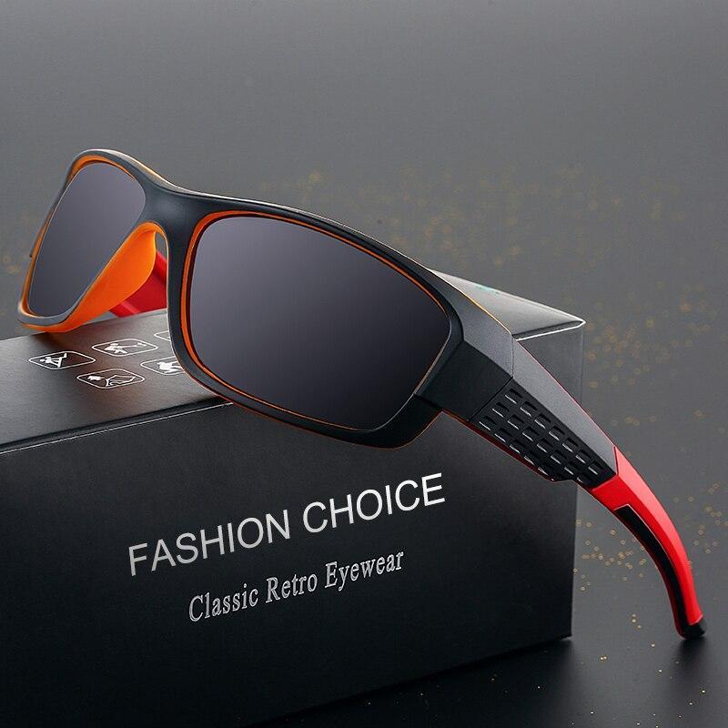 RILIXES2018 New High Classic Fashion Guy's Sun Glasses Polarized UV400 Durable Double Colors Traveling Sunglasses For Men