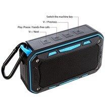 S618 Bluetooth Speaker IP67 Waterproof Handsfree TF FM Radio Portable Outdoor Speaker for Riding Climbing Bicycle стоимость