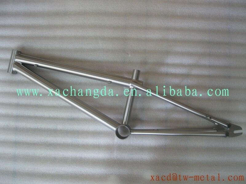 Venta caliente de titanio cuadro de la bicicleta bmx con BB 30 BB ...