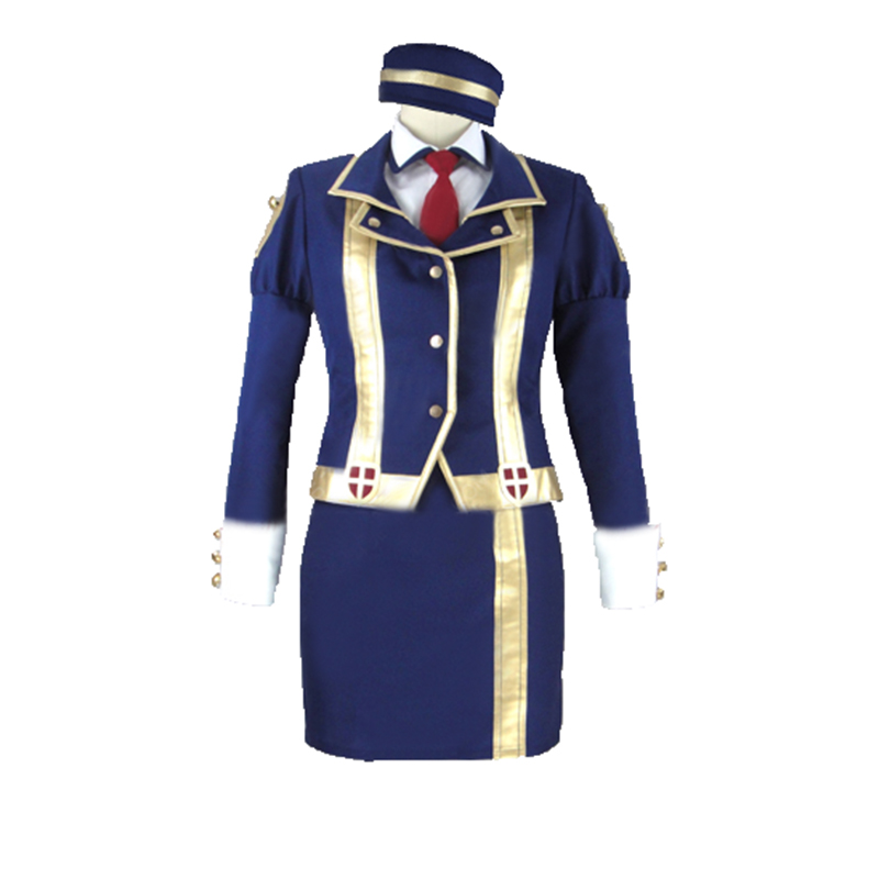 kono subarashii sekai ni shukufuku wo sienna cosplay Costume with hat Custom Made