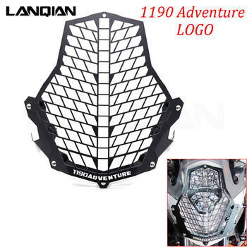 Motorcycle Accessories For KTM 1190 Adventure/ADV Headlight Guard Front Lamp Protector Cover Stainless Steel All Years