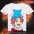 Fairy Tail T-shirt Japan Anime Lucy Erza Cosplay Costume Party T Shirt Men Women Tees