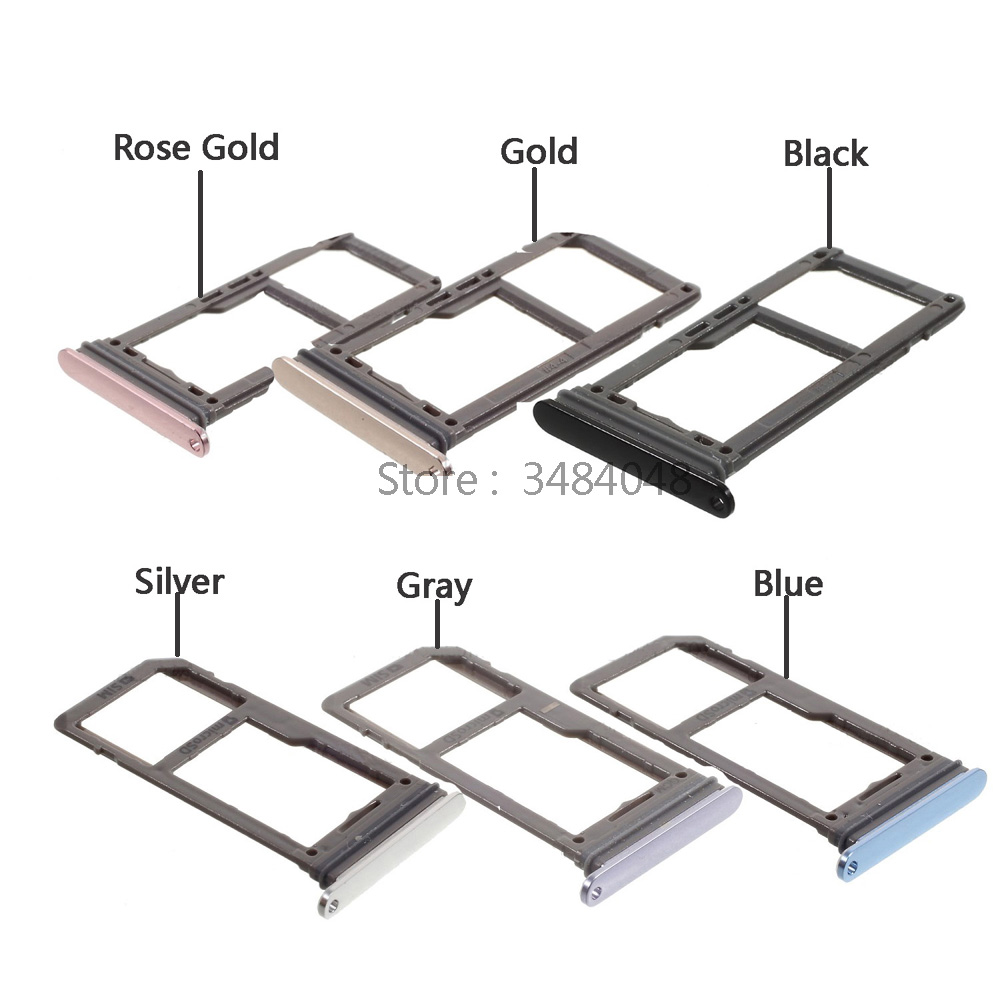OEM SIM Card Tray Holder Slot SD Card Tray Replacement For Samsung Galaxy S8 G950 S8 Plus G955