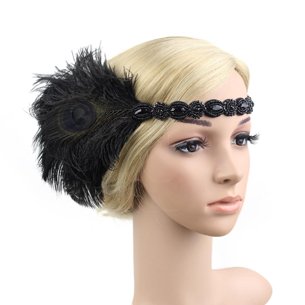 flapper hair accessories - 596×750