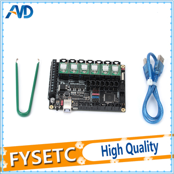 FYSETC F6 Board ALL-in-one Electronics Solution F6 V1.3 For 3D Printer CNC Devices+6pcs A4988 Green/Red Stepper Motor Driver