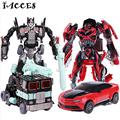 Cool Plastic ABS + Alloy  Action Figure Toys Classic Movie 4 Series Deformation Robot Car Cool Juguetes Boy Toys Party Gift