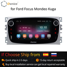 [Установка услуги бесплатно] Ownice K1 K2 Автомагнитола Android 8.1 Автомагнитолы 2 din для Ford Focus Mondeo Kuga C-MAX S-MAX Galaxy Магнитола Car radio player
