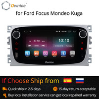 Ownice K1 K2 Android Car DVD Player 2 Din radio GPS Navi for Ford Focus Mondeo Kuga C MAX S MAX Galaxy Audio Stereo Head Unit