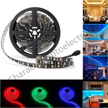 5M Black/white  PCB RGB 5050 LED tape RGB  LED Strip SMD 5050 DC12V IP20 NO Waterproof IP65 Waterproof  60LED/m Led Strings