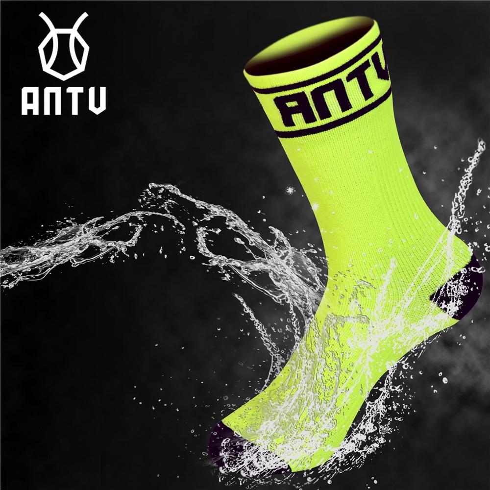 ANTU Socks Bamboo Skiing TRAIL-DRY Breathable Fishing Hiking Outdoor Hunting Waterproof